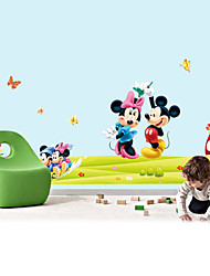 Wall Stickers Wall Decals, Style Mickey Mouse PVC Wall Stickers
