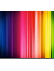 "Case for Macbook Air 11.6""/13.3"" Color Gradient Stripes Plastic Material Colorful Stripe Design Full-Body Protective Plastic Case"