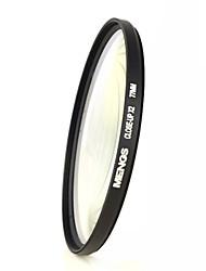 mengs® 77 milímetros close-up filtro x2 com moldura de alumínio para a câmera DSLR