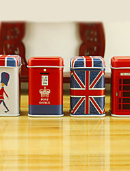 British Wind Tin Box (Set of 4)