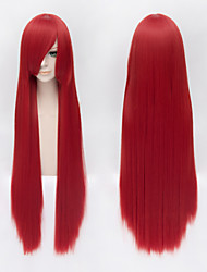 Shakugan no Shana Cosplay Long Red Straight Wig Black Butler Anime Cosplay Wigs