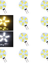 Stiftsockellampen Warmweiß/Kühlweiß G4 - 5 W 500-800 lm- AC 12 V- 10 Stücke