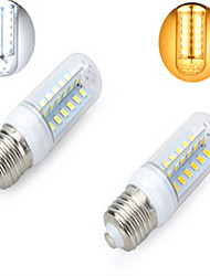 1 pcs  E27 12 W 48LED  SMD 5730 1200 LM 2800-3500/6000-6500 K Warm White/Cool White Corn Bulbs AC 220V