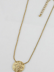 Gold Collarbone Necklaces 1pc