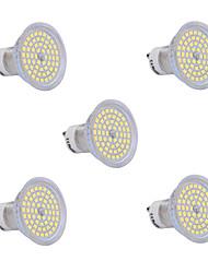 6W GU10 LED Spot Lampen 60 SMD 2835 540 lm Warmes Weiß / Kühles Weiß AC 220-240 V 5 Stück