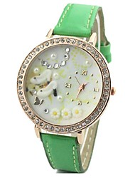 Mujer Reloj de Moda Piel Banda Reloj de Pulsera