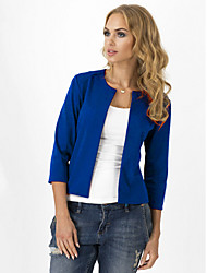 Women's Casual Medium  Short Blazer (Cotton)
