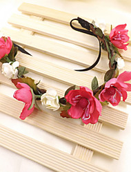 Women  Wreaths With WeddingHeadpiece(More Colors)