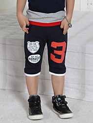 Boy's Solid Color Digital Printing Cotton Pants(More Colors)