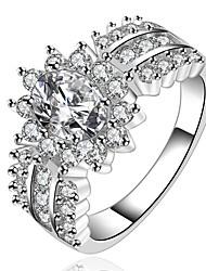 Ringen Dagelijks Sieraden Staal Ring 1 stuks,7 8 Zilver