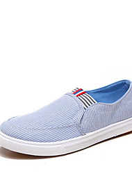 Men's Shoes Casual Canvas Fashion Sneakers Blue/Gray