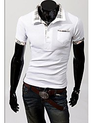 Men's Sleeve Printing POLO Shirt