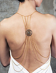 Body Jewelry/Body Chain Alloy Others Unique Design Fashion Gold 1pc