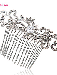 Neoglory Jewelry Bridal Hair Comb Tiara with Clear Rhinestone for Lady/Wedding/Pageant/Daily