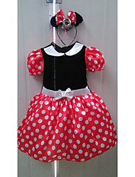 Kid's Dress , Cotton Blend Cute/Party Alisa