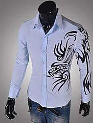 Super Hot Men's Casual Shirt Collar Long Sleeve Casual Shirts