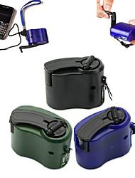 dinamo mano cellulare caricabatterie a manovella usb portatile di emergenza per i viaggi esterni