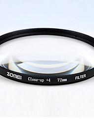 Новый zomei 52 макросъемка +4 объектив фильтр