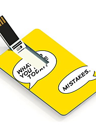 8GB Make Mistakes Design Card USB Flash Drive