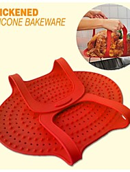 Oven Roasted Turkey Special Silicone Pad / Barbecue Pad / Roast Duck Pad / Oven Pad (Color Random)