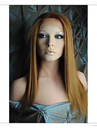 """100% del pelo humano pelucas de encaje rectas lwg001 foto color # 30 longitud 14 """"(necesitan 28 días para custome maquillaje)"""