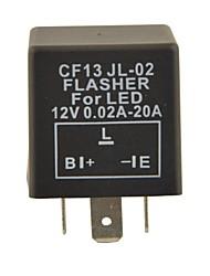 Contrôle auto condenseur de voiture cf13 périphérique / flasher pour led (DC11 ~ 15v 0,02 ~ 20a)