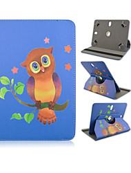 высокое качество 360 градусов вращения PU кожа с случае Подставка для 7 дюймов и 8 дюймов всеобщего и планшета