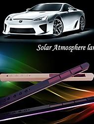 Solar Car Decorative Door Atmosphere Lamp Interior Light Atmosphere Lamp LED Interior Modifications 1PCS