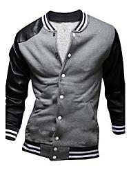 Dina Men's Long Sleeve Coats & Jackets (Cotton)