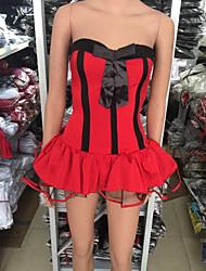 Costume Sexy Bull Re Demone femminile Red