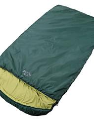 Saco de dormir ( Verde Escuro ) - Algodão Rotativo/Poliéster -Permeável á Humidade/Respirabilidade/Mantenha Quente/Compressão/Tempo