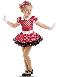 Ballet Dance Dancewear Children's Dots Tutu Ballet Dress Kids Dance Costumes