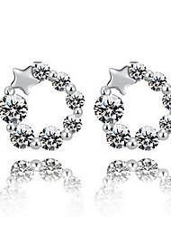 KIKI 925 South Korean Star Silver Earrings