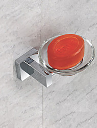 Bathroom Glass Soap Dish Holder