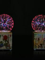 bola de cristal de resina llevó la lámpara (color al azar)