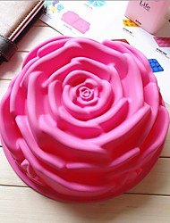 mode vorm siliconen mousse cake chocolade bakvormen decoreren schimmel keuken koken bakken gereedschappen (willekeurige kleur)
