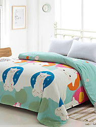 Yuxin® Cream Color Duvet Cover Fashion Soft & Comfortable Cute Alpaca Printed Full/Queen/King Size