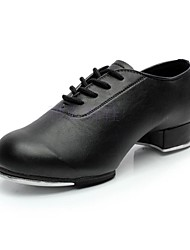 Women's   Flat Tap Leather Dance Shoes