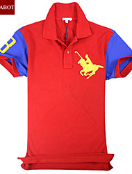 John cabot 2015 brand Fashion Polo shirt cool logo men short sleeve casual dress world famous Man's Polo shirts
