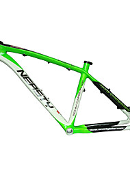 "Neasty Brand MB-NT02 Full Carbon Fiber MTB Frame Green White Color High Quality 26er Frame 15""/17"""