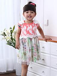 Girl's Summer Short Sleeve Dresses(More Color)