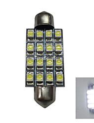 Reading Light/License Plate Light Car Single Row 6000K/8000K Festoon
