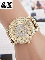 Women's Fashion Diamond Quartz Analog Steel Belt Watch Cool Watches Unique Watches
