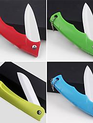 складной нож керамический нож красочные фрукты (случайный цвет) 18x3.5x2cm