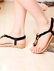Women's Shoes Flat Heel Slingback Sandals Casual Black/Brown/Beige
