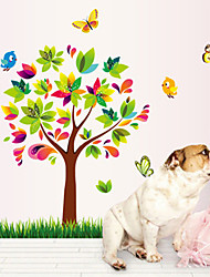 Wall Stickers Wall Decals, Colorful Tree PVC Wall Stickers