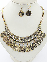 Women Vintage / Party Alloy Necklace / Earrings Sets