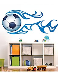 Wall Stickers Wall Decals, Football PVC Wall Stickers