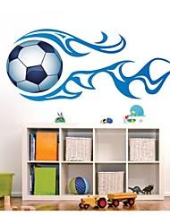pared calcomanías pegatinas de pared, pvc fútbol pegatinas de pared