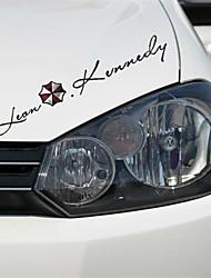 adhesivos para el coche con el coche de estilo leon kennedy